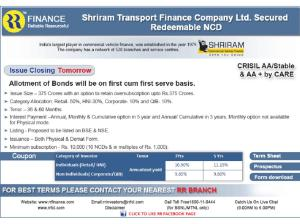 Shri Ram Transport Finance