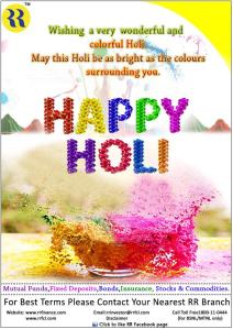 HAPPY HOLI by RR Group